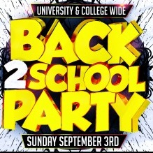 ALL AGES BACK 2 SCHOOL PARTY | OFFICIAL MEGA PARTY!