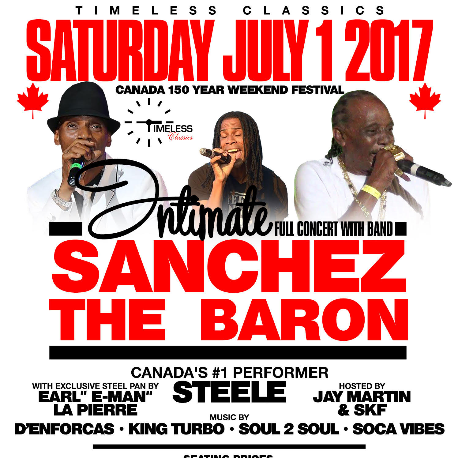 Intimate Full Concert With Sanchez & The Baron