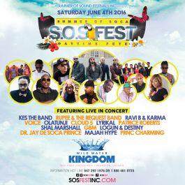 SOS FEST - Summer Of Soca Festival
