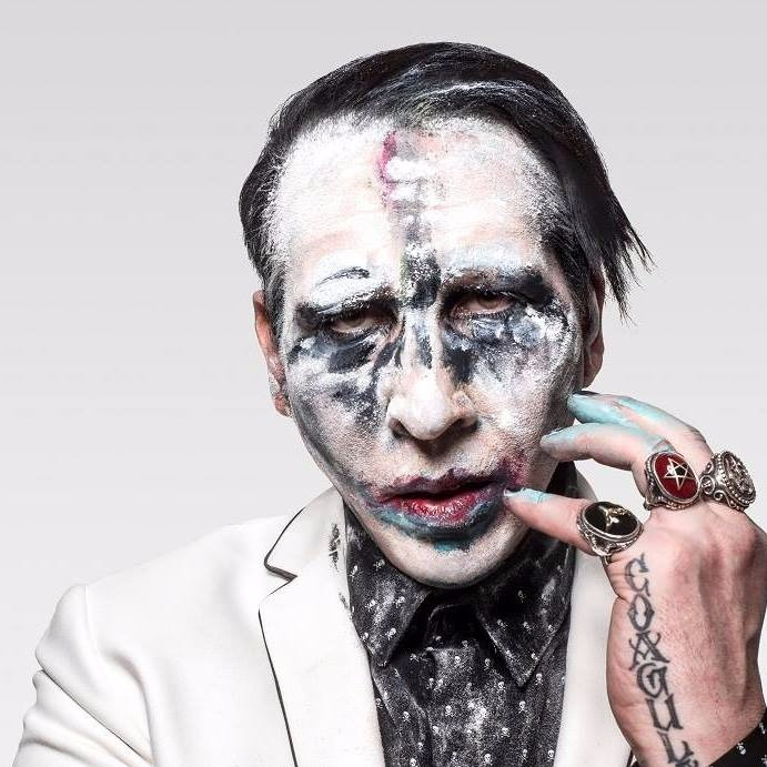 Marilyn Manson & Alice Glass at Rebel