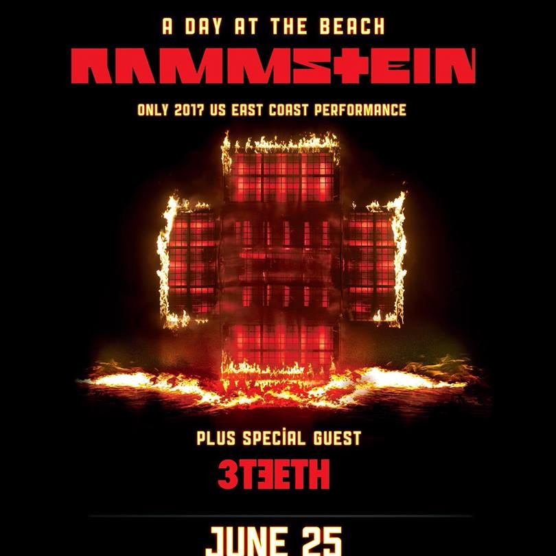 Rammstein at Northwell Health at Jones Beach Theater