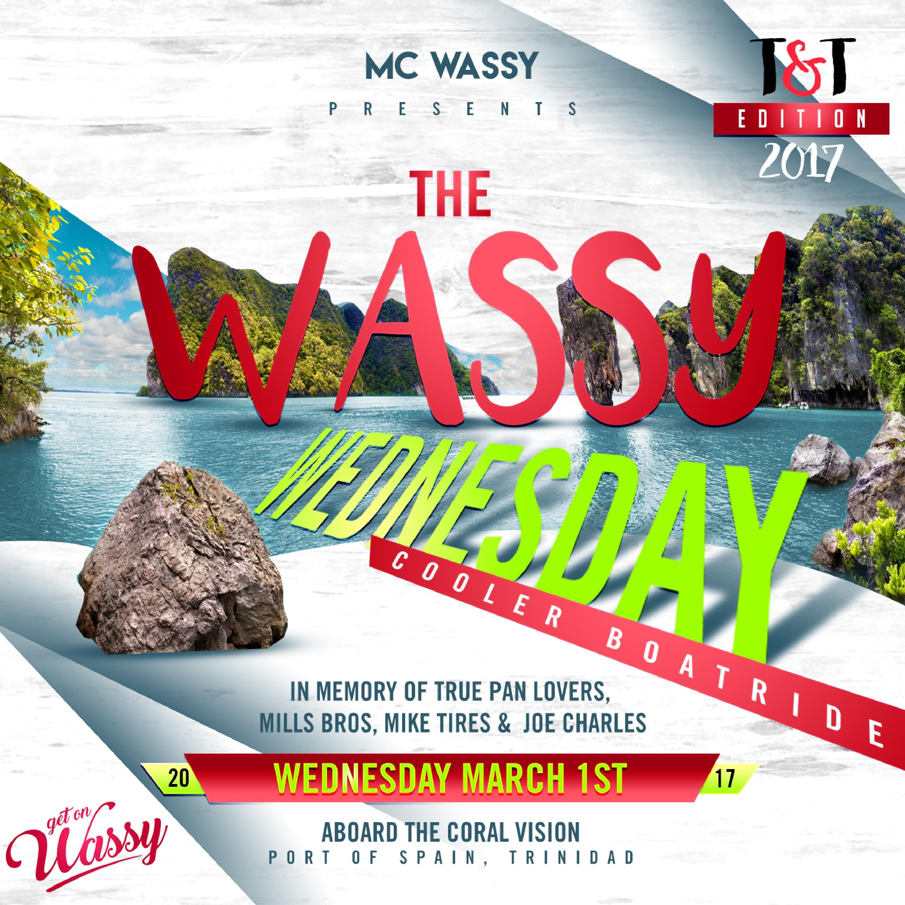 Wassy Wednesday Cooler Boatride T&T Edition