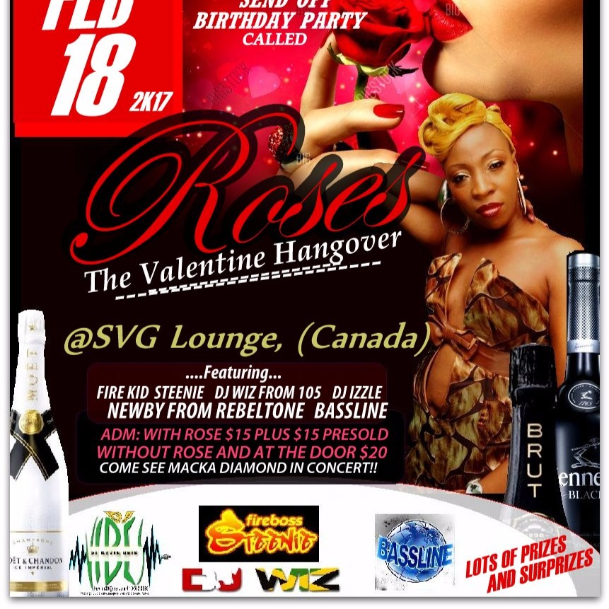 ROSES THE VALENTINE HANGOVER