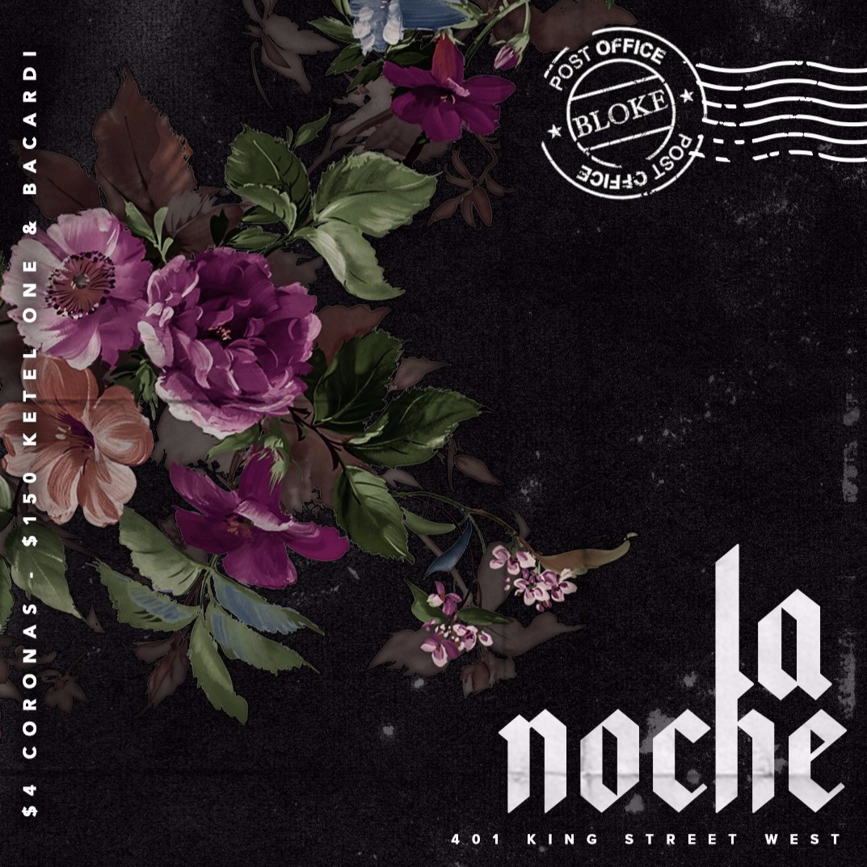 LA NOCHE WEDNESDAYS @ BLOKE