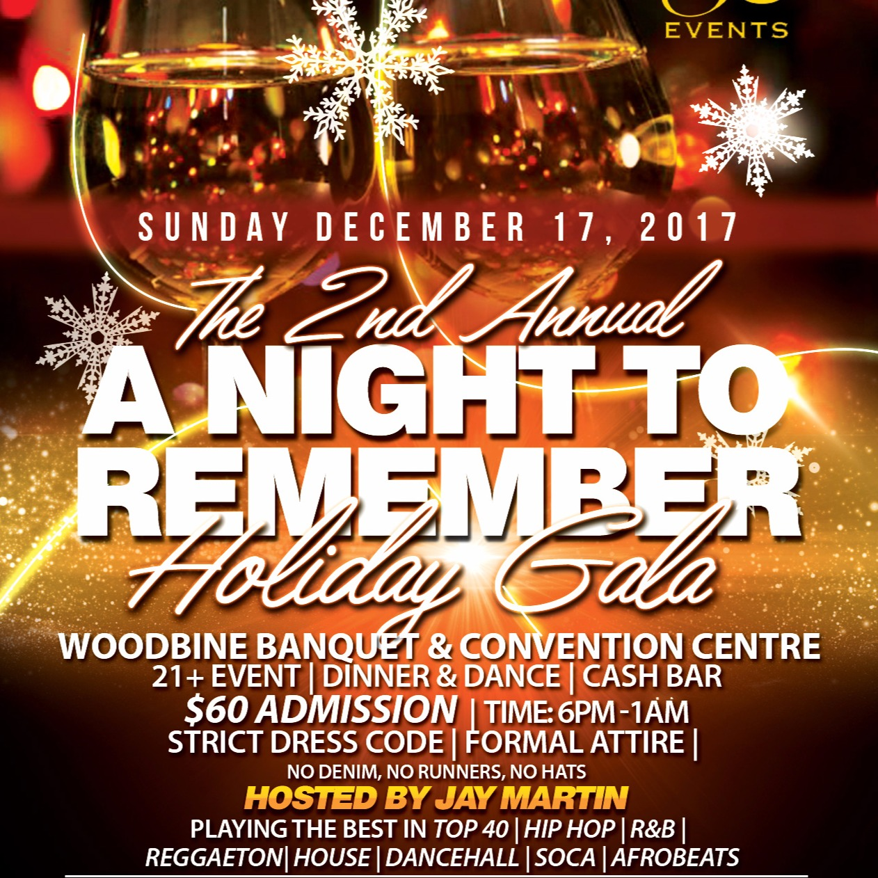 "The 2nd Annual ""A NIGHT TO REMEMBER"" Holiday Gala"
