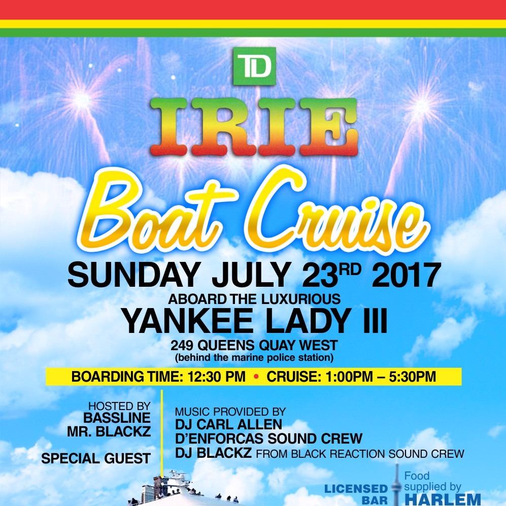 TD IRIE BOAT CRUISE 2017