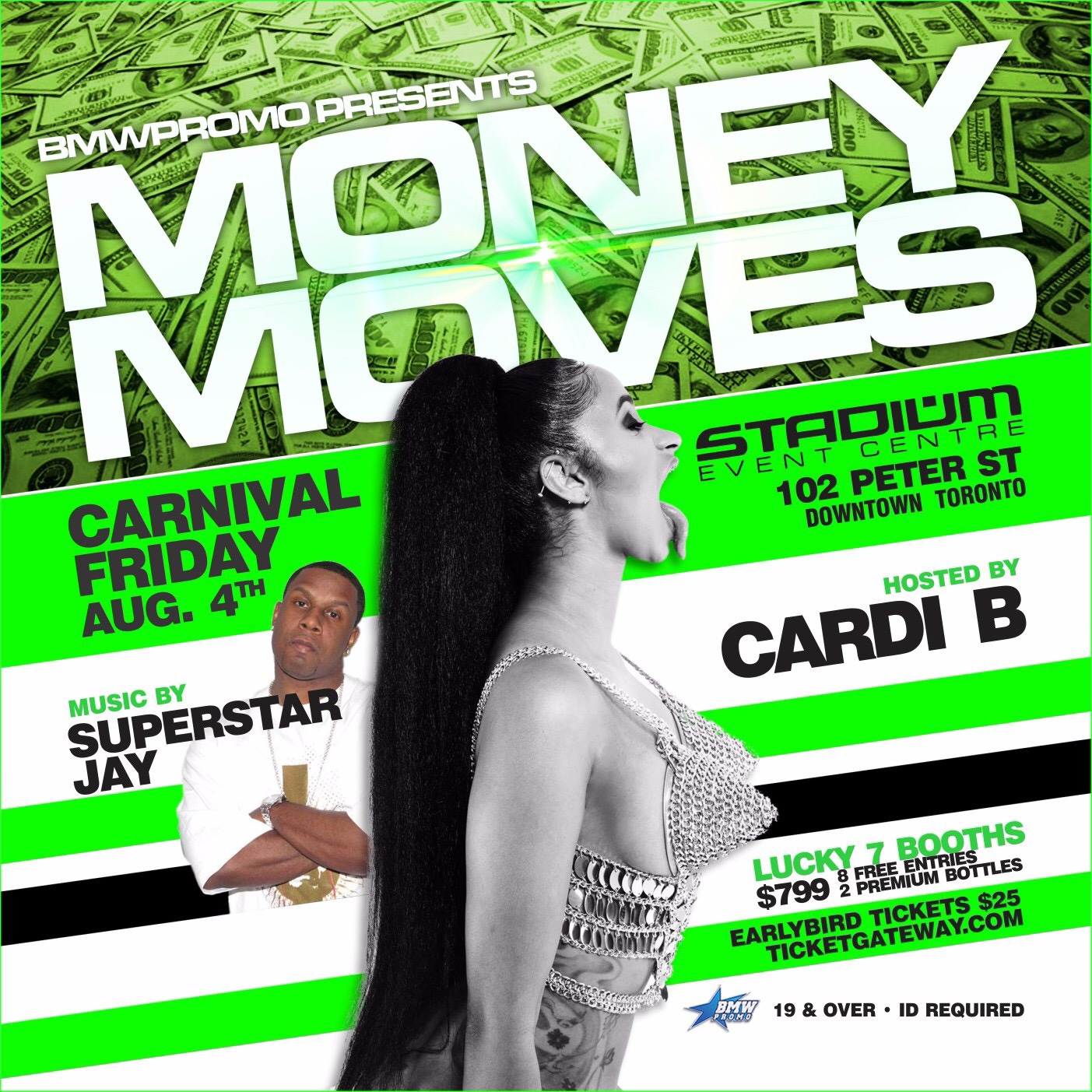 MONEY MOVES - CARNIVAL FRIDAY