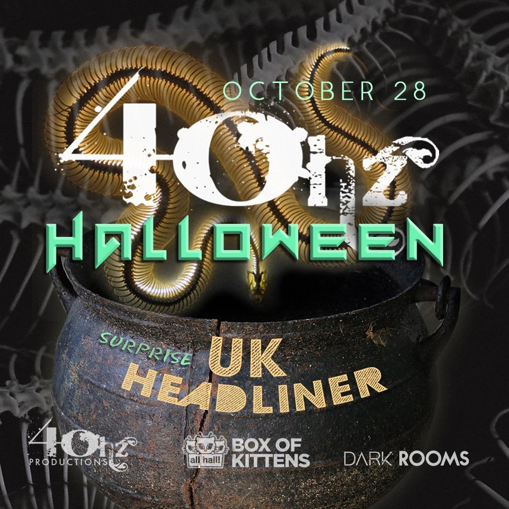 40hz Halloween  - Warehouse Party