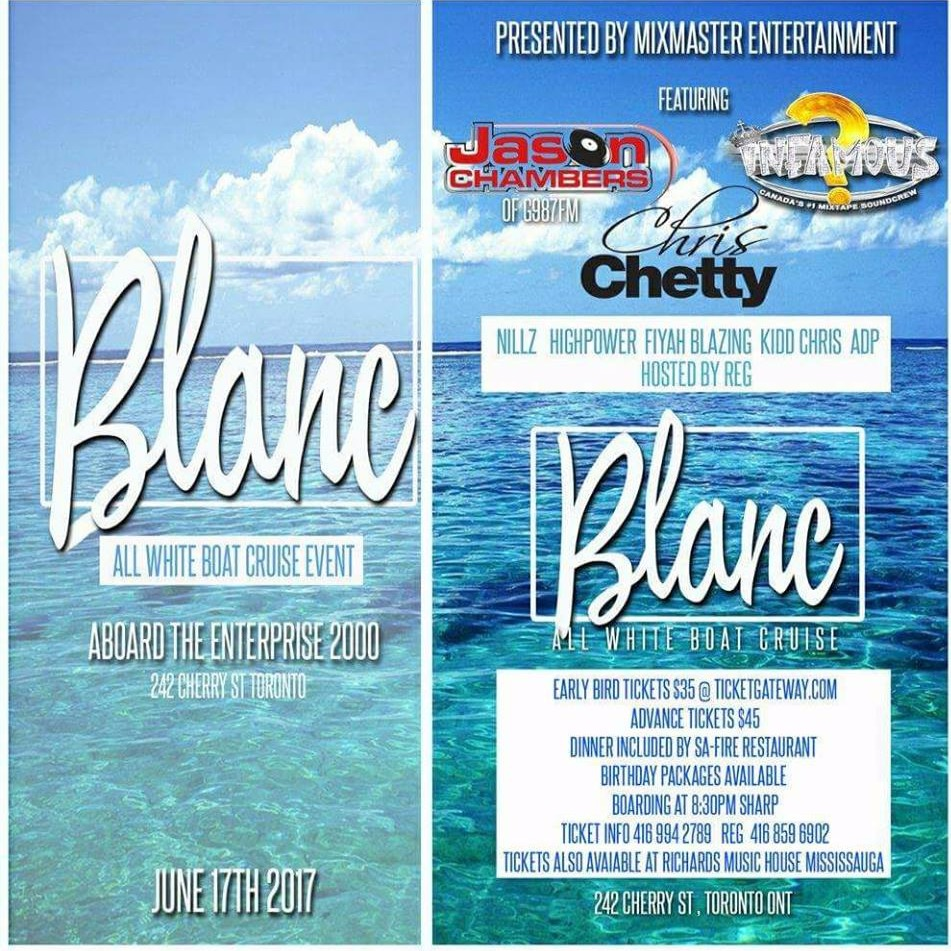 BLANC - All White Boat Cruise 2017