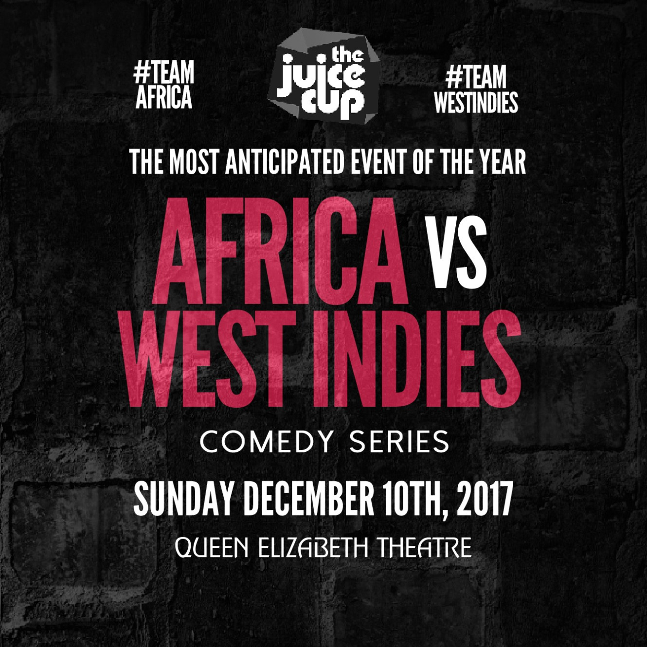 The 2017 JUICE CUP : Africa Vs West Indies