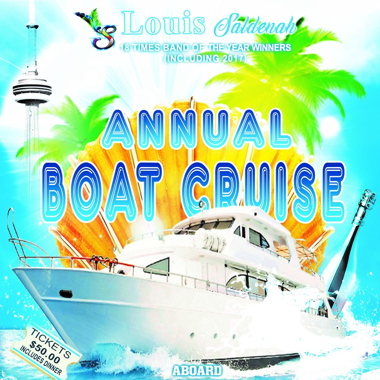 Louis Saldenah Annual Boat Cruise 2018