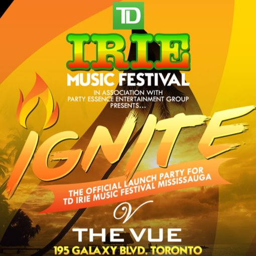 IGNITE - The Launch Party for Irie Fest