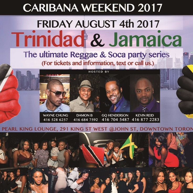 TRINIDAD & JAMAICA | CARIBANA FRIDAY |  PEARL KING LOUNGE