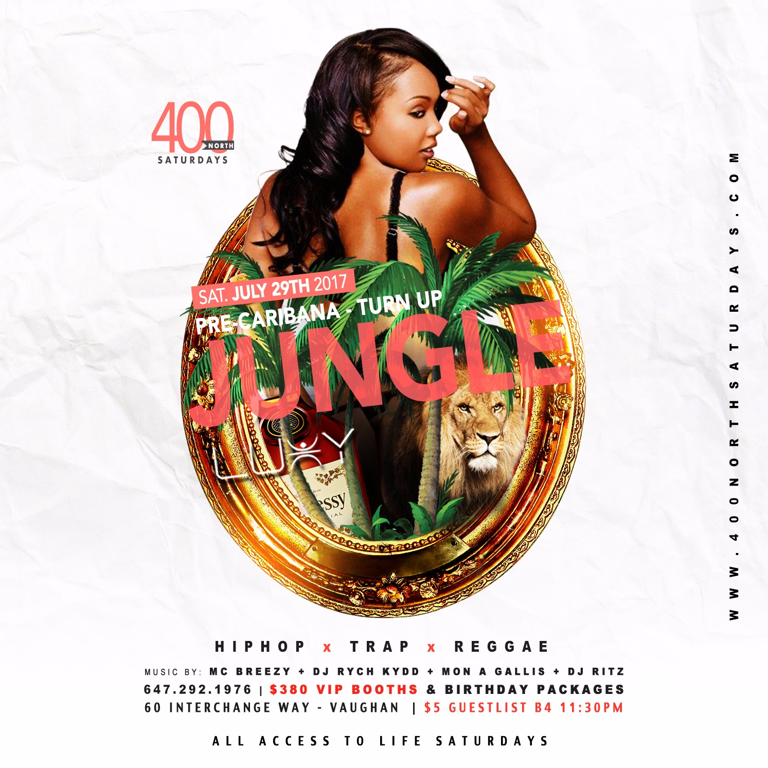 400 NORTH SATURDAYS - JUNGLE