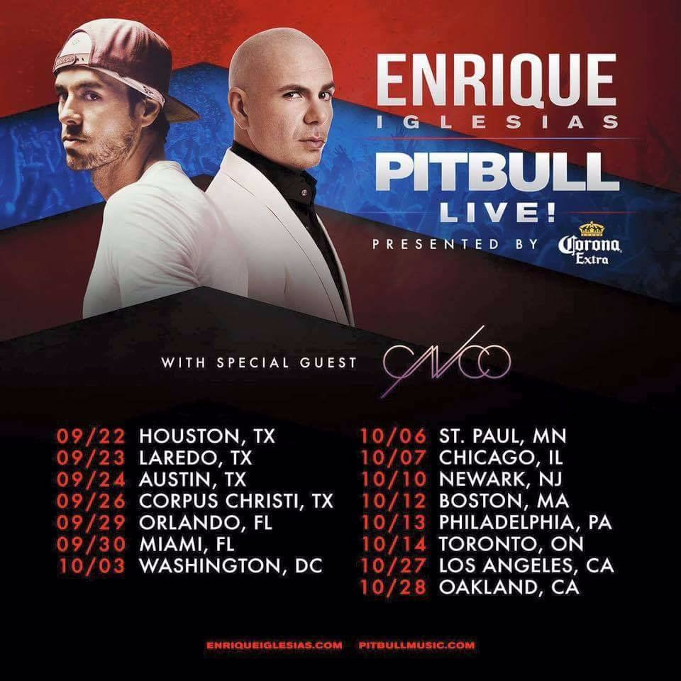 Enrique Iglesias & Pitbull Live! with CNCO at Air Canada Centre | Oct 14&15