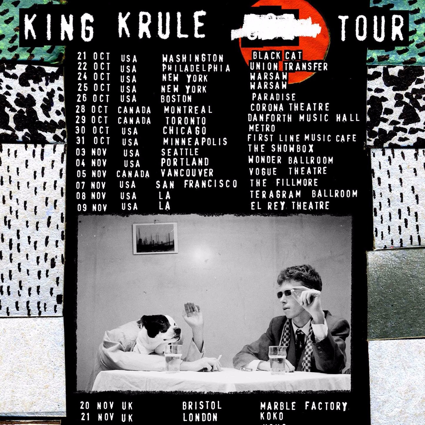 King Krule at Danforth Music Hall