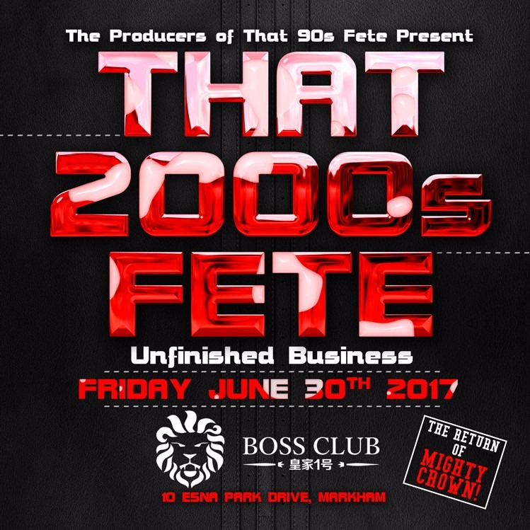 THAT 2000S FETE - UNFINISHED BUSINESS