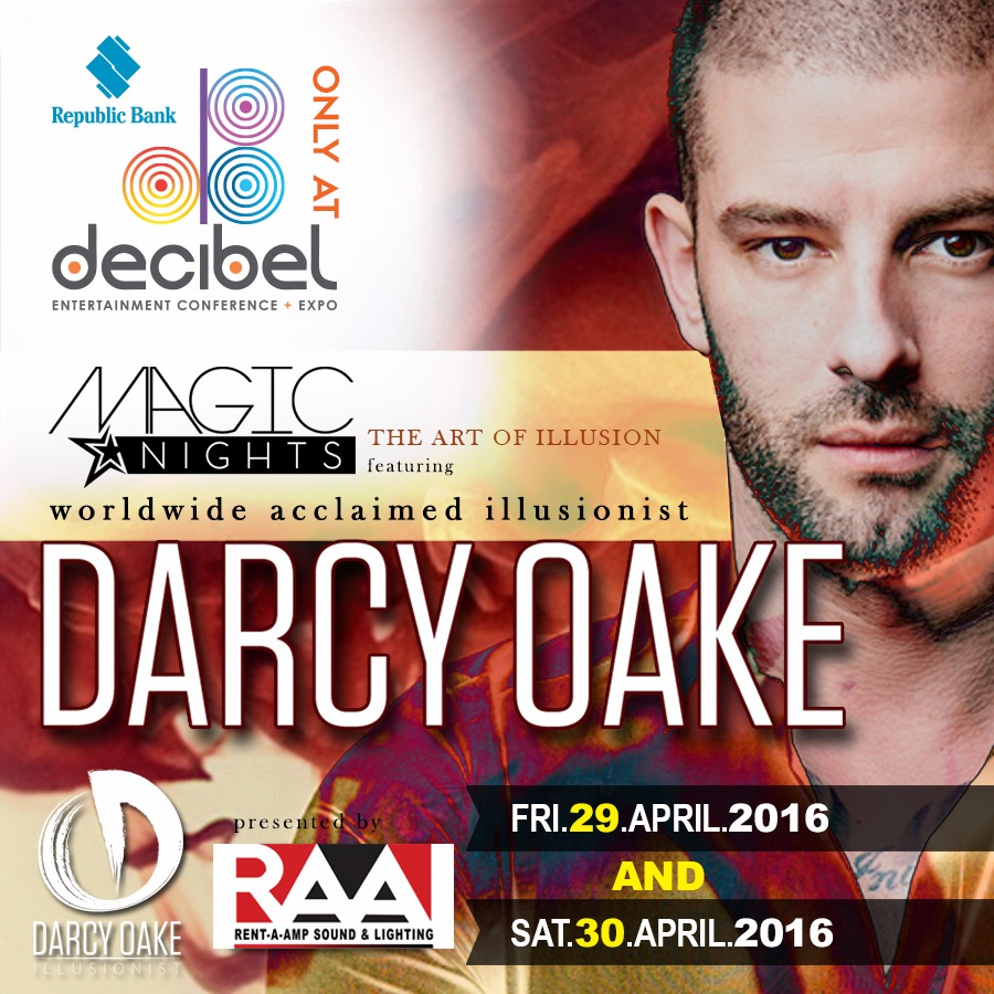 MAGIC NIGHTS FT. DARCY OAKE / 30th April (Late Show)
