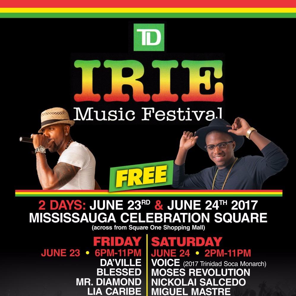 TD IRIE MUSIC FESTIVAL 2017