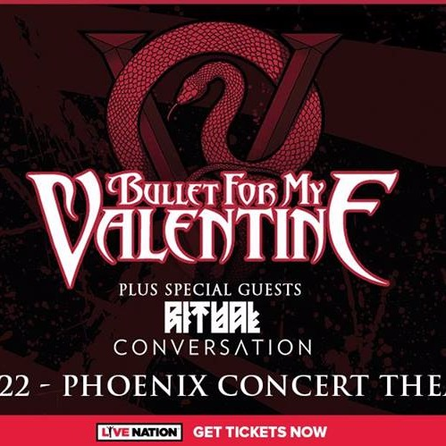Bullet for My Valentine at Phoenix Concert Theatre