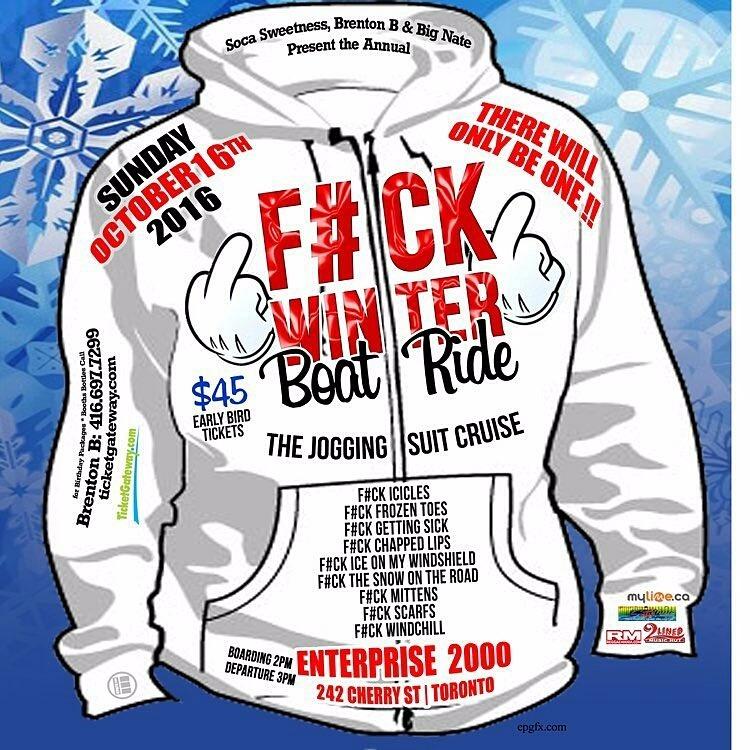 The Annual F#CK WINTER #BoatCruise