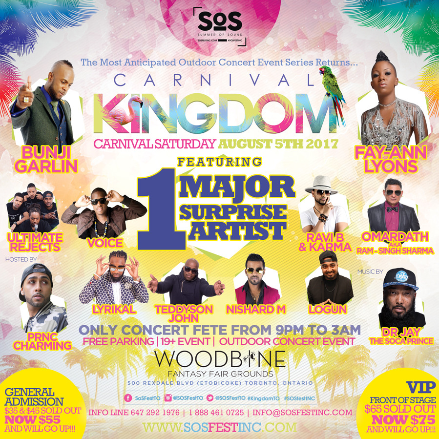 CARNIVAL KINGDOM 2017 | SOS Fest|Carnival Saturday's Biggest Concert Event