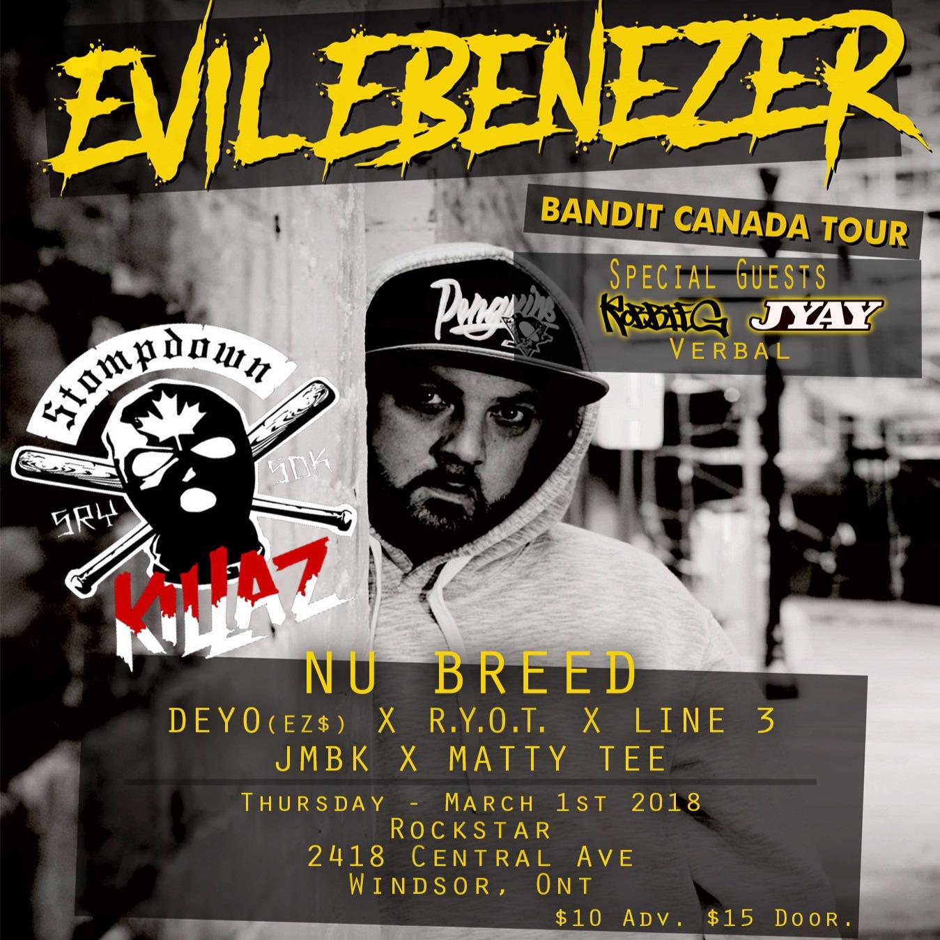 Evil Ebenezer W/ Nu Breed