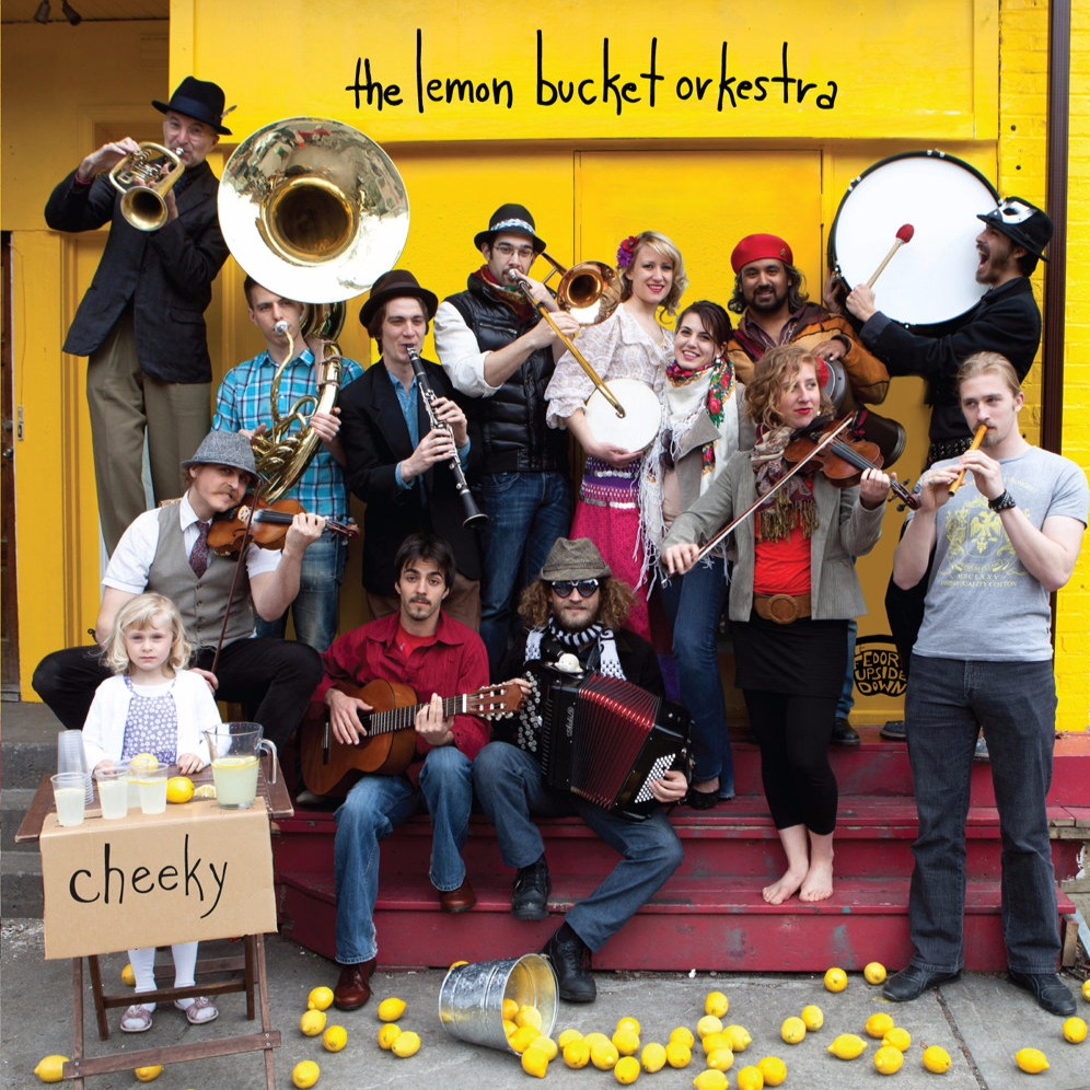 Lemon Bucket Orkestra at Danforth Music Hall