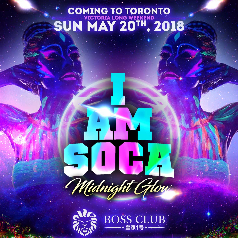 I AM SOCA Toronto Midnight Glow