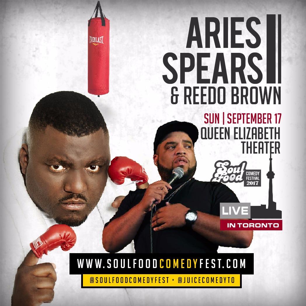 Aries Spears - POSTPONED (Soul Food Comedy Festival 2017)
