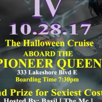 Get Your Freak On Part 4 Halloween Costume Boat Party (Enclosed Boat)