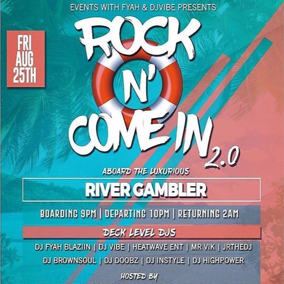 Rock N Come In Boat Ride 2017