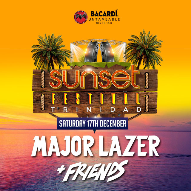 Sunset Festival Presents Major Lazer & Friends