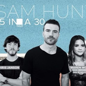 Sam Hunt 15 In A 30 Tour at PNC Bank Arts Center