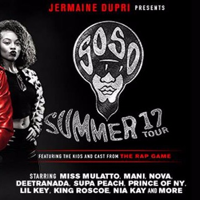 Jermaine Dupri Presents SoSoSUMMER 17 Tour at The Beacon Theatre
