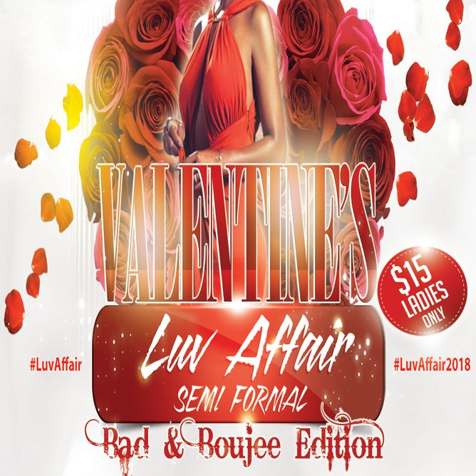 Valentine's Luv Affair - Semi Formal