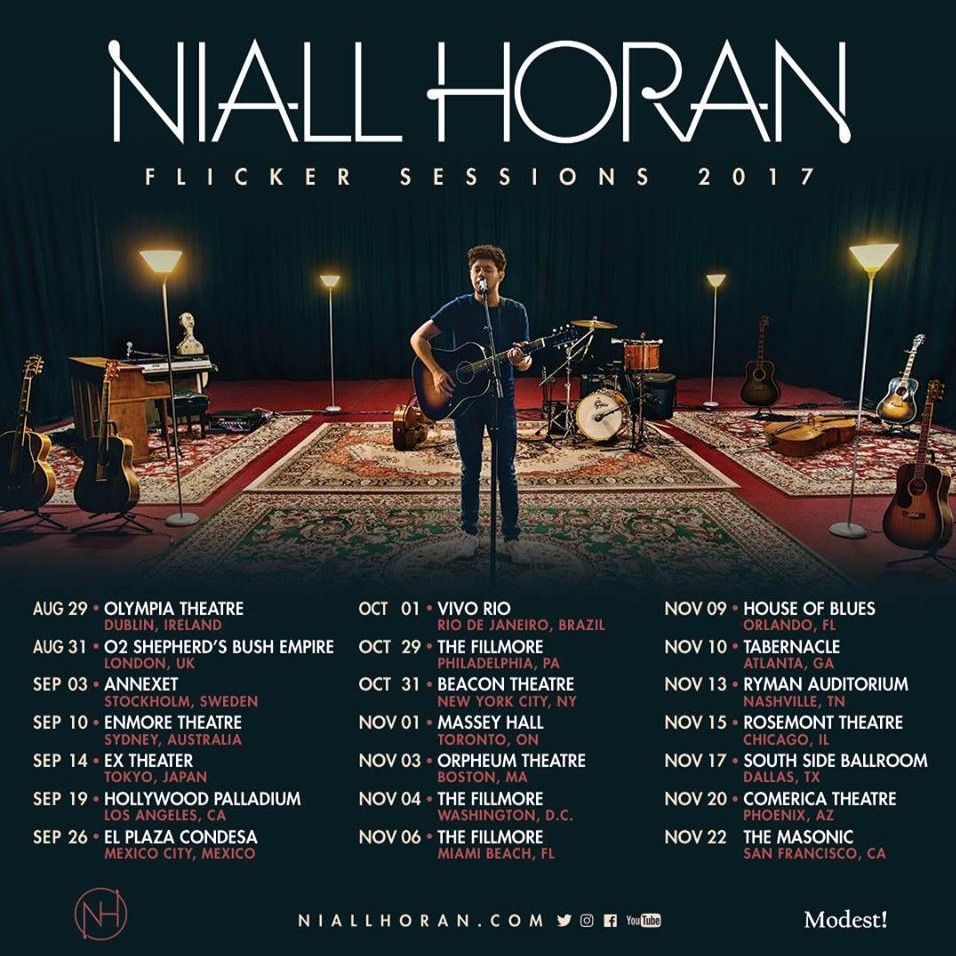 Niall Horan at Massey hall
