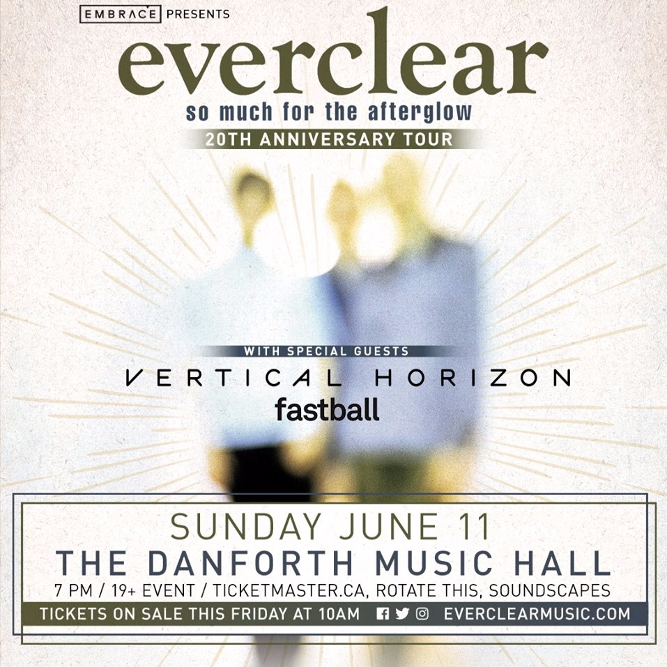 Everclear: So Much For The Afterglow 20th Anniversary Tour