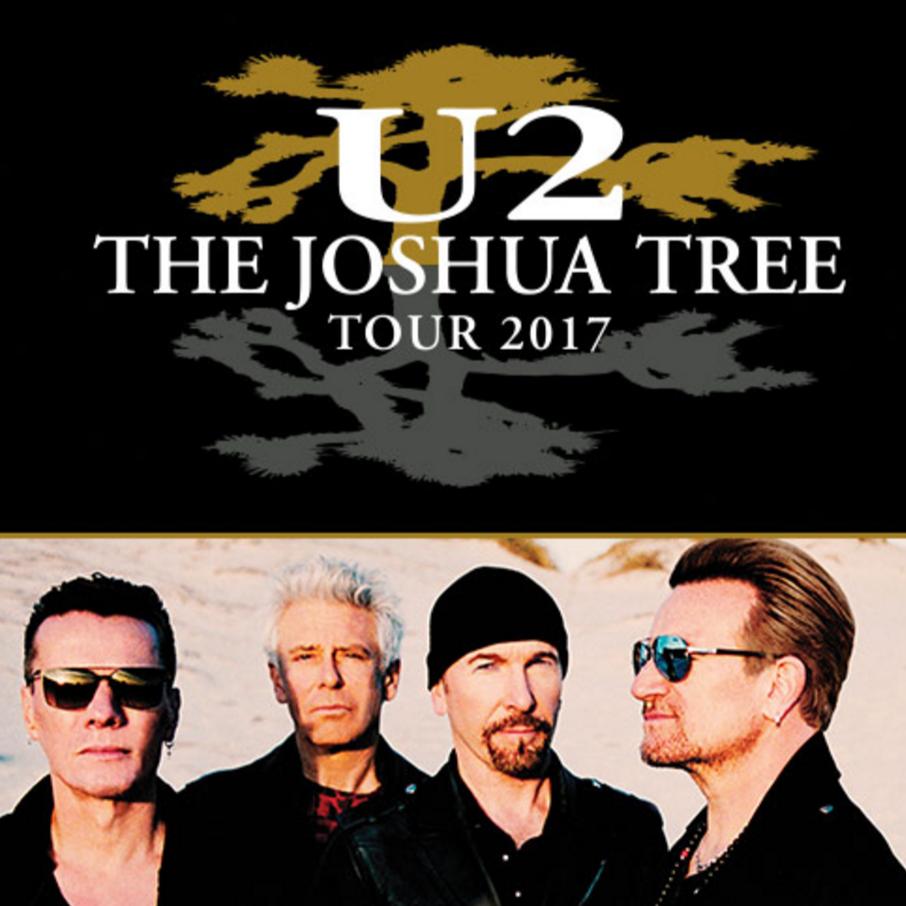 U2: The Joshua Tree Tour 2017 at Rogers Centre