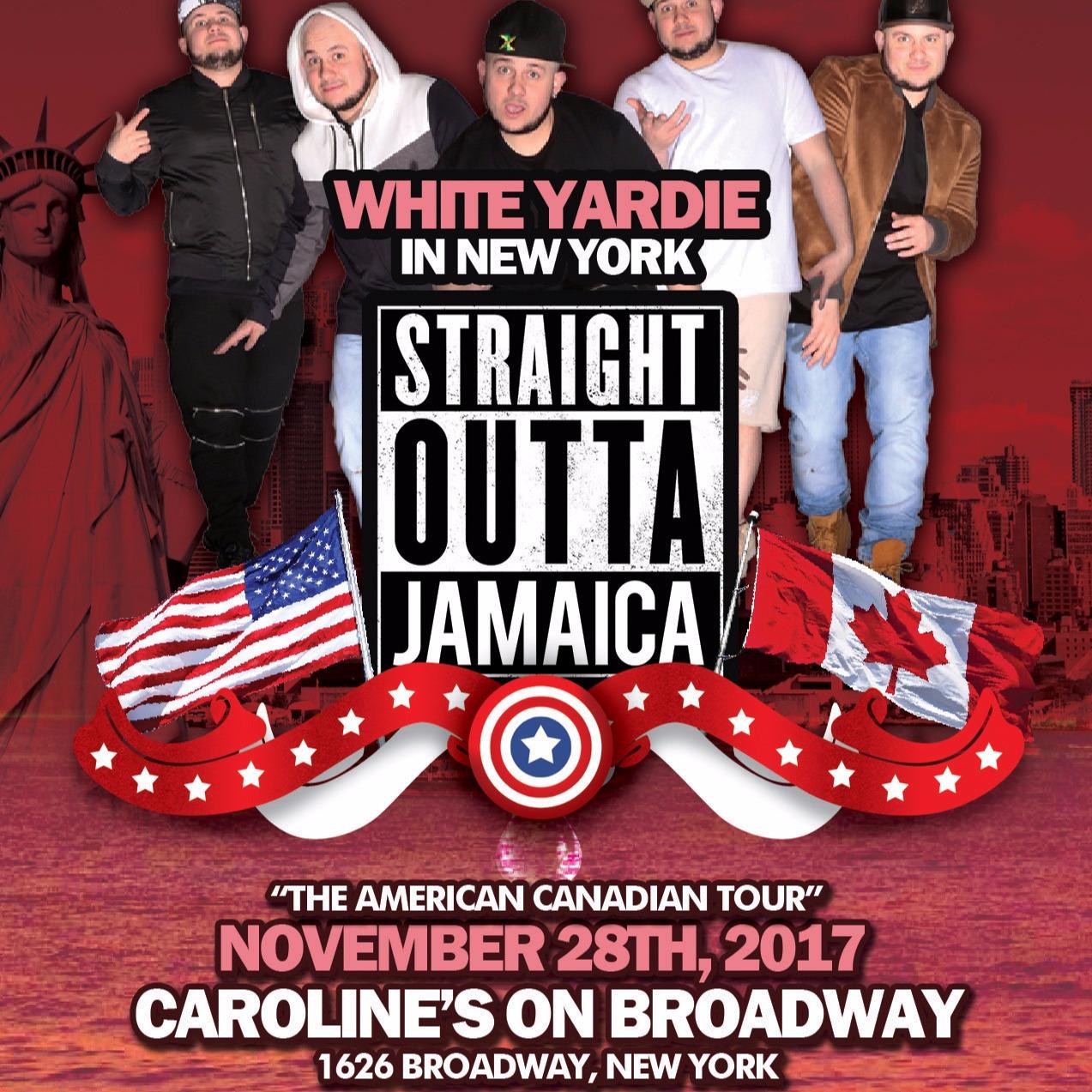 White Yardie & JUICE Comedy present STRAIGHT OUTTA JAMAICA TOUR - New York