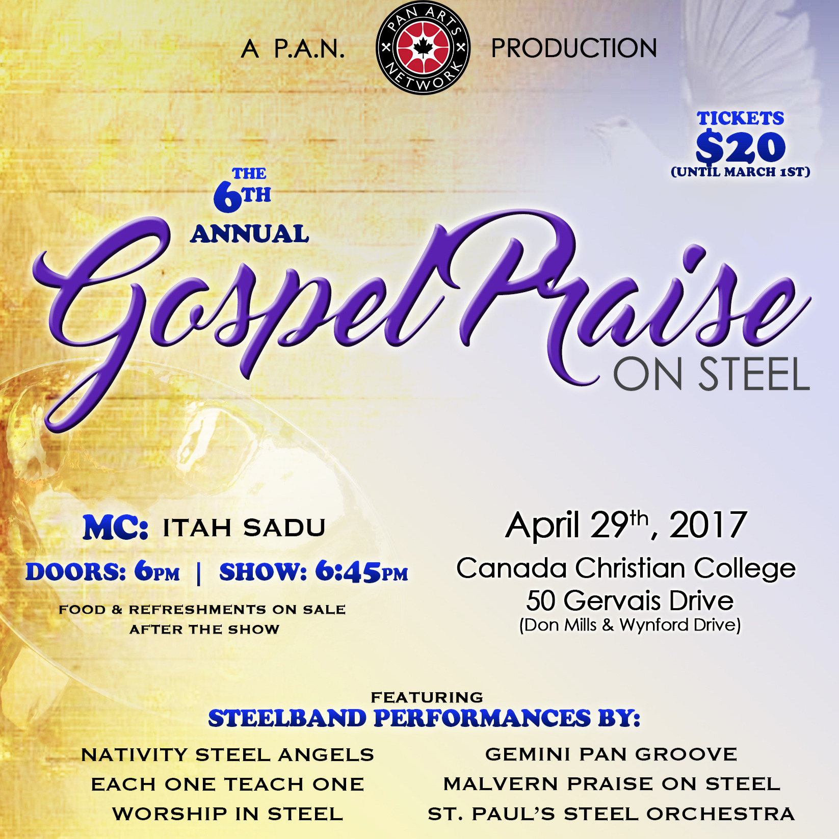 GOSPEL PRAISE ON STEEL