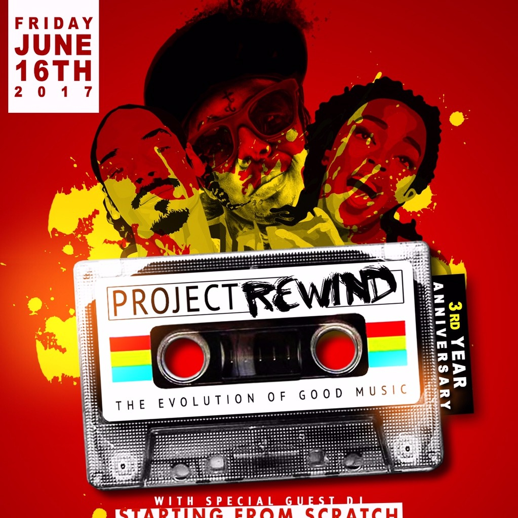 PROJECT REWIND 3RD YEAR ANNIVERSARY