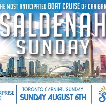 Saldenah Sunday - The Boat Cruise 2017 (Toronto Carnival Sunday)