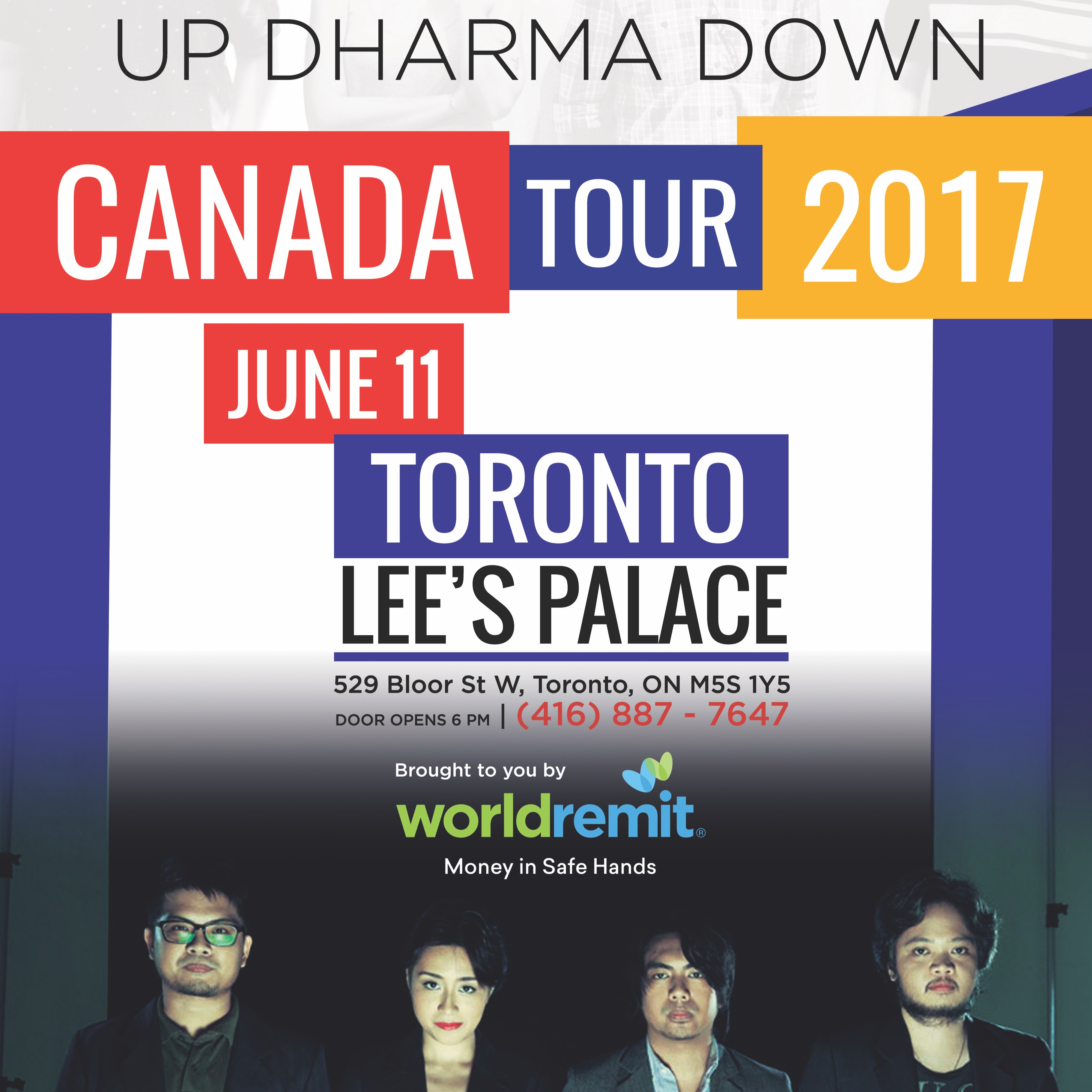UDD (Up Dharma Down) Live in Toronto!