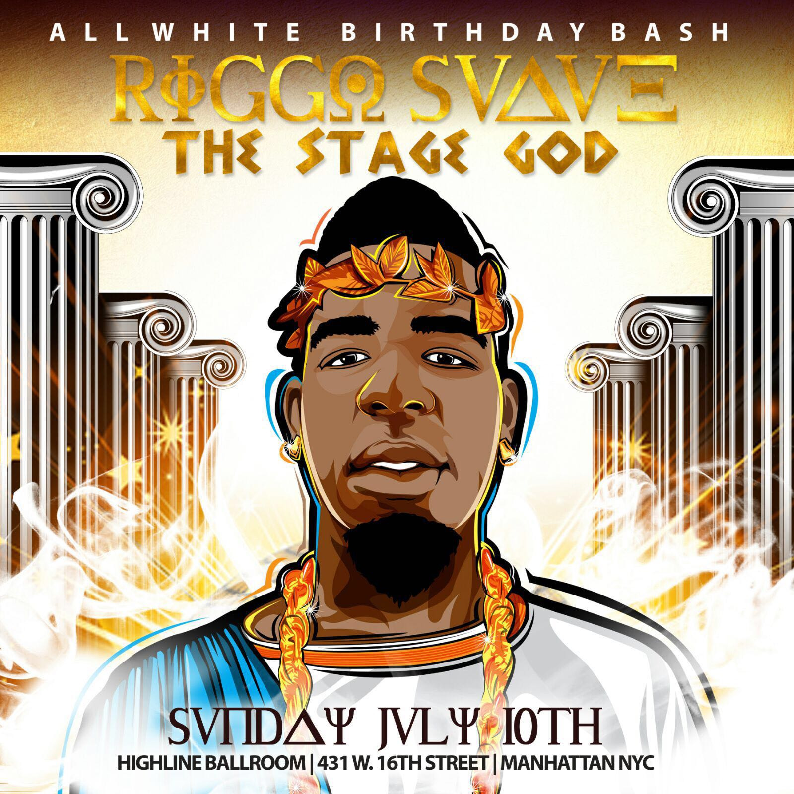 ALL WHITE EVERYTHING – Riggo Suave Official Birthday Celebration