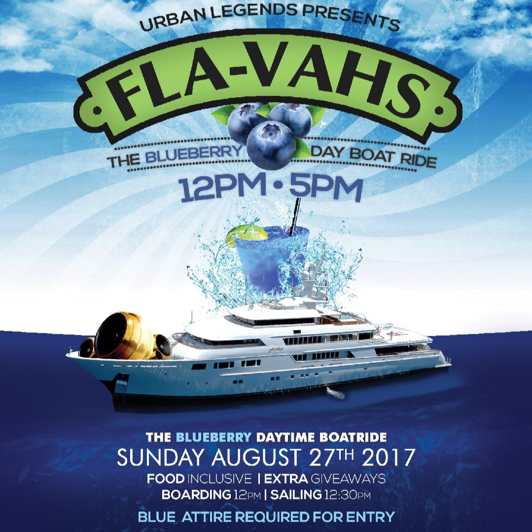 FLAVAHS - The Blueberry Day Time Boatride