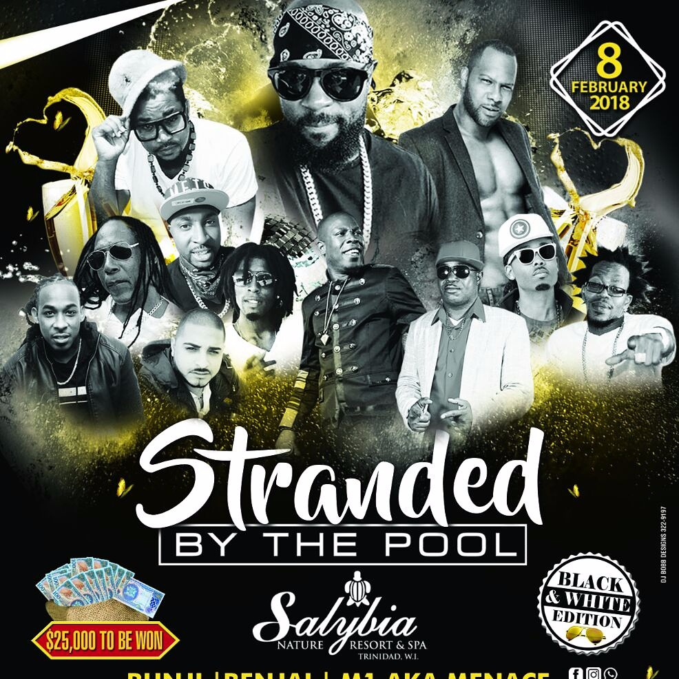 STRANDED BY THE POOL 2018