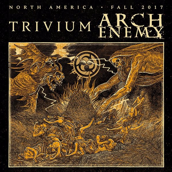 Trivium & Arch Enemy at Danforth Music Hall