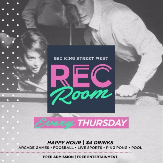 REC ROOM - EVERLEIGH THURSDAYS @ EVERLEIGH