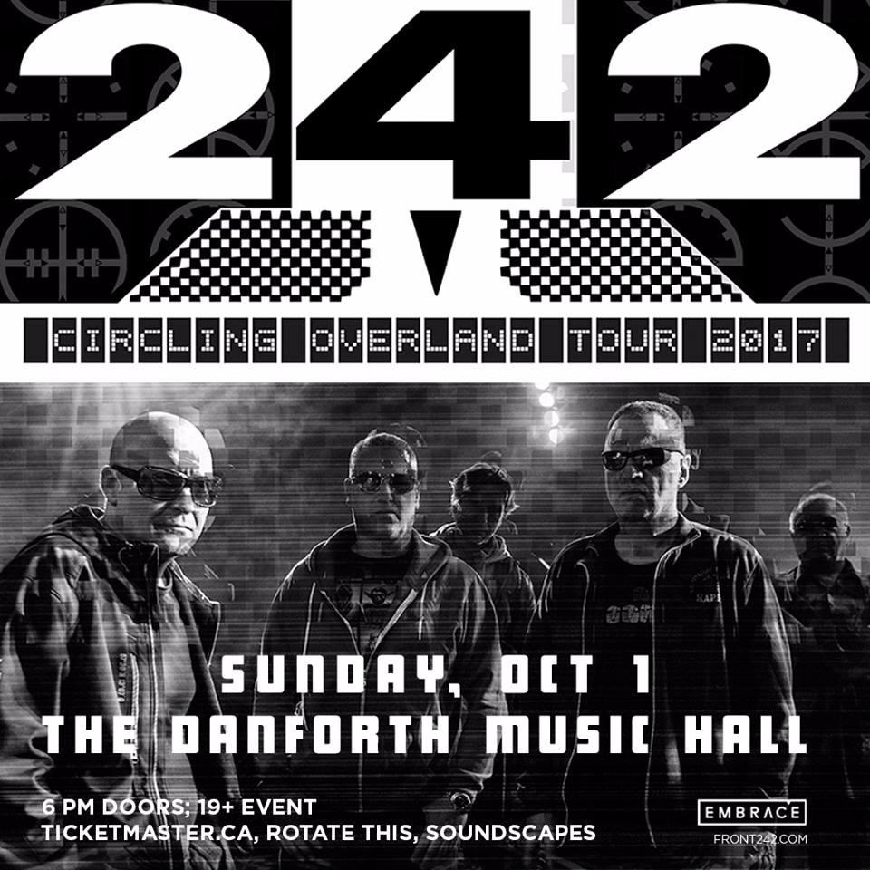 Front 242 at Danforth Music Hall